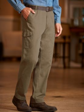 Scandia Woods Adjust-A-Band Neat Fit® Cargo Pants