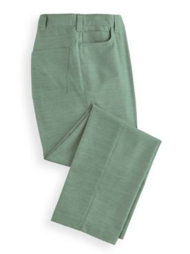 John Blair® Linen-Look 5-Pocket Pants