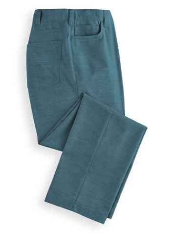 John Blair® Linen-Look 5-Pocket Pants - Image 2 of 2