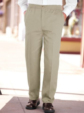 John Blair Relaxed-Fit Wrinkle-Resistant Pants - Image 1 of 6