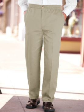 John Blair Relaxed-Fit Wrinkle-Resistant Pants