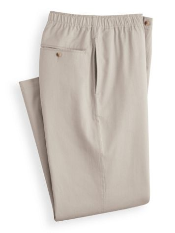 John Blair Relaxed-Fit Wrinkle-Resistant Pants - Image 2 of 2