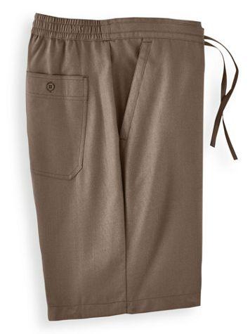 John Blair® Linen-Look Shorts