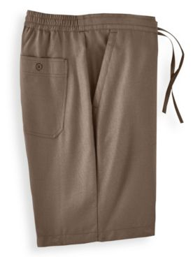 John Blair® Linen-Look Shorts