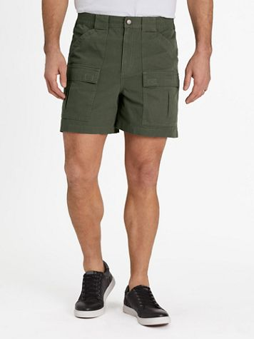 """Scandia Woods Relaxed-Fit 5"""" Cargo Shorts - Image 1 of 7"""