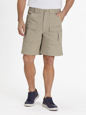"""Scandia Woods Relaxed-Fit 9"""" Cargo Shorts - Image 1 of 7"""