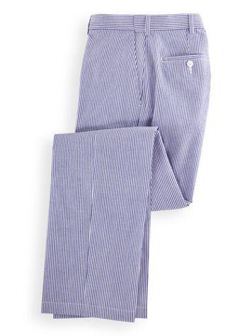 Adjust-A-Band Seersucker Pants - Image 2 of 2