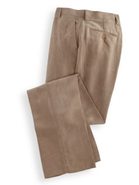 Stacy Adams® Suede-Like Dress Pants