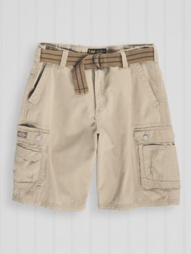 Lee® Belted Cargo Shorts