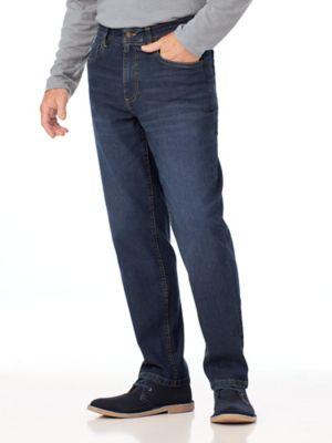 Scandia Woods Classic-Fit Hidden-Elastic Waist Stretch Jeans