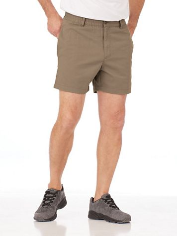"""John Blair Relaxed-Fit 5"""" Inseam Sport Shorts - Image 1 of 6"""