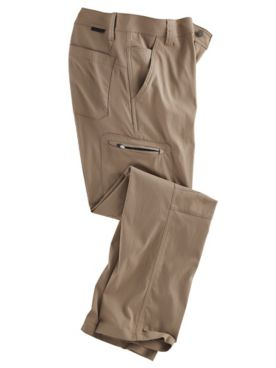 Wrangler ATG Classic Straight-Fit Zip Cargo Synthetic Pants