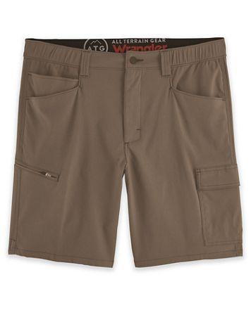 Wrangler ATG Asymmetric Cargo Shorts - Image 1 of 4