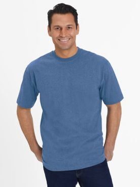 Everyday Jersey Knit No-Pocket Tee Shirt
