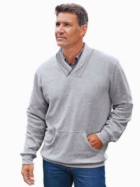 Scandia Woods Shawl-Collar Pullover