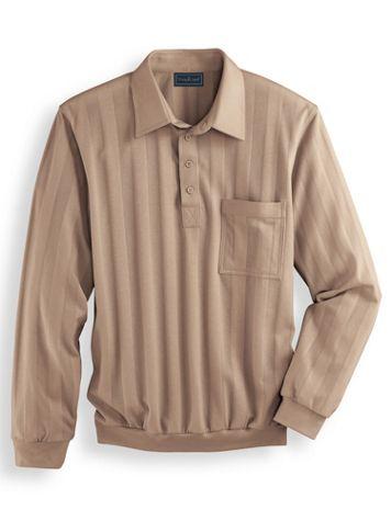 John Blair Long-Sleeve Tonal Polo Shirt - Image 2 of 2