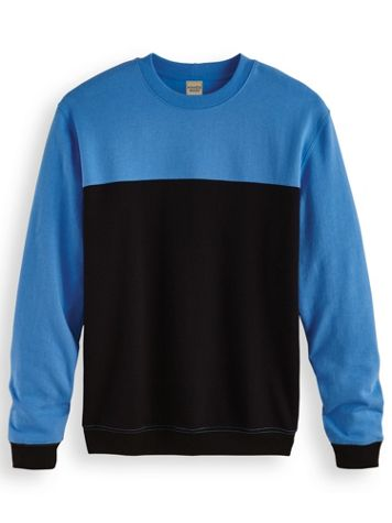 Scandia Woods Colorblock Crewneck Sweatshirt - Image 1 of 4