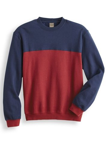 Scandia Woods Colorblock Crewneck Sweatshirt - Image 2 of 2