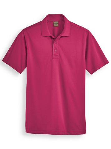 Scandia Woods Solid Stay-Cool Polo - Image 0 of 1