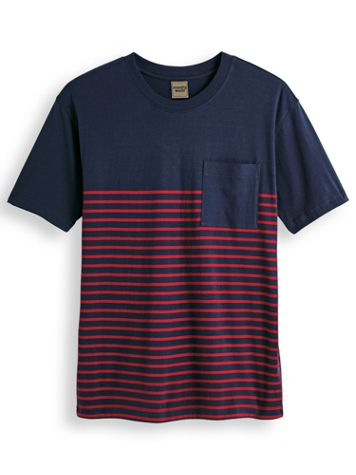 Scandia Woods Half-Stripe Crew