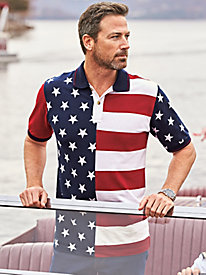 Scandia Woods Stars & Stripes Polo