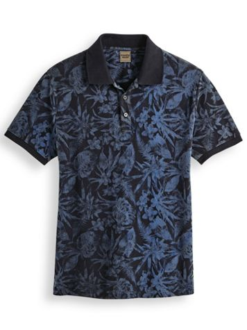 Scandia Woods Printed Pocket Polo - Image 1 of 3