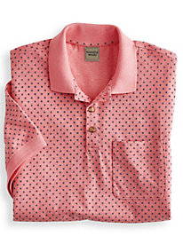 Scandia Woods Neat-Fit Print Polo