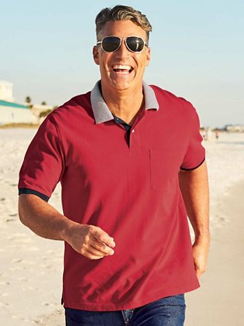 Scandia Woods Colorblock Polo - Image 1 of 4