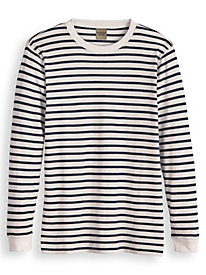 Scandia Woods Allover Stripe Deck Shirt