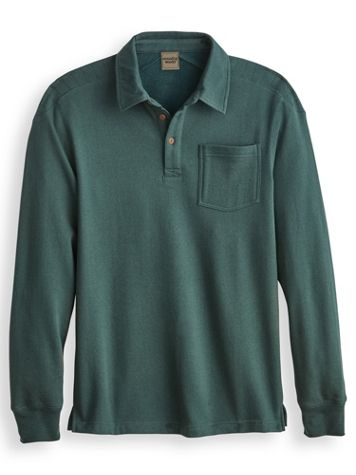 Scandia Woods Shoulder-Quilted Polo - Image 1 of 4