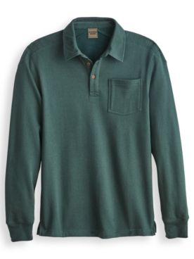 Scandia Woods Shoulder-Quilted Polo