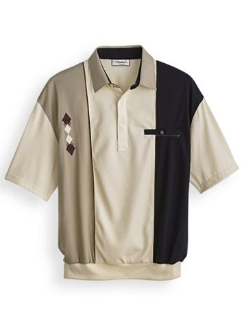 Palmland® Diamond-Embroidered Polo - Image 0 of 1