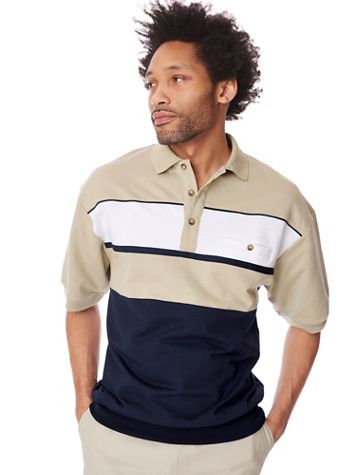 Palmland® Chest Stripe Polo - Image 1 of 4