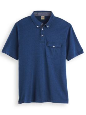 Scandia Woods Button-Down Polo