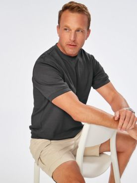 Scandia Woods Short-Sleeve Sweatshirt