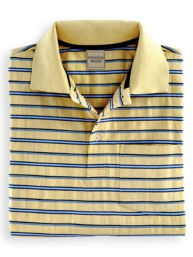 Scandia Woods Striped Polo