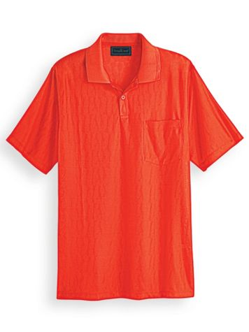 TropiCool® DRYnamic Patterned Polo - Image 1 of 5