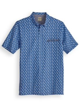 Scandia Woods Printed Pocket Polo