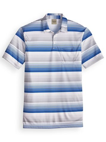 Scandia Woods Easy-Care Full-Stripe Polo