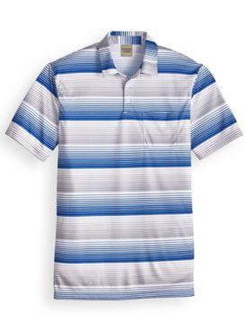 Scandia Woods Easy-Care Full-Stripe Polo