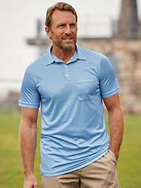 Scandia Woods Easy-Care Print Polo