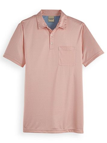 Scandia Woods Easy-Care Print Polo - Image 2 of 2
