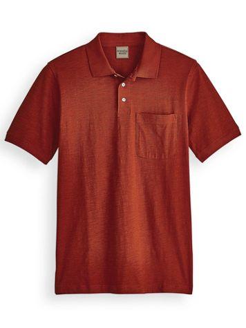 Scandia Woods Linen-Like Pocket Polo - Image 2 of 2