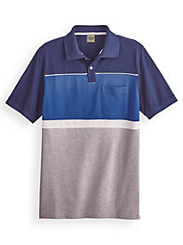 Scandia Woods Colorblock Polo