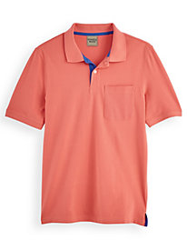 Scandia Woods Contrast-Placket Polo