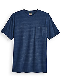 Scandia Woods Super-Soft Striped Pocket Crew