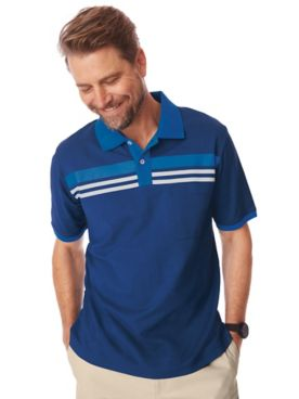 Scandia Woods Chest-Stripe Polo