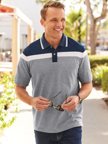 Scandia Woods Chest-Stripe Polo - Image 0 of 1
