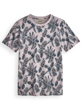 Scandia Woods Super-Soft Tropical-Print Tee