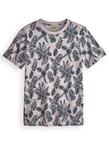 Scandia Woods Super-Soft Tropical-Print Tee - Image 0 of 1